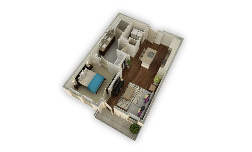 Peachtree Square Apartments Floor Plans: Studio, 1 & 2 Bedroom Apartments For Rent At The Haynes House