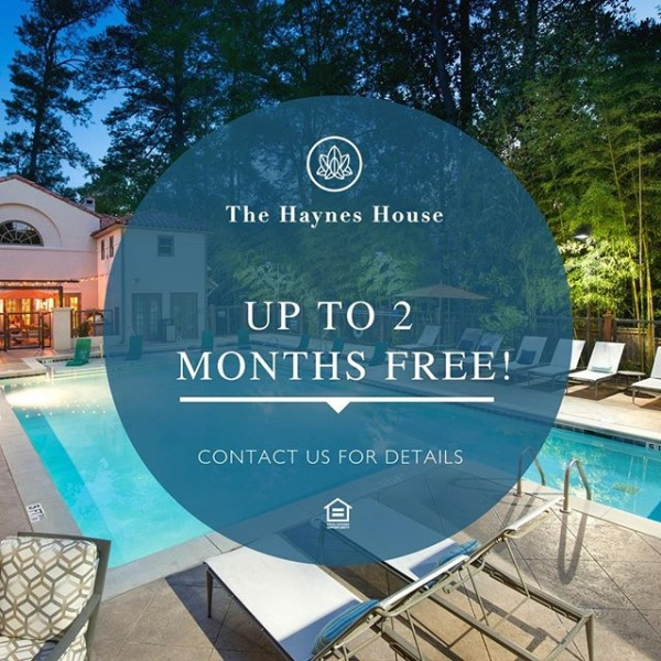 Spring into the life of distinction you deserve at The Haynes House. Contact us to learn more about this amazing special for new residents! . . . . . #thehayneshouse #hayneshouse #hayneshouseapartments #thehayneshouseatl #discoveratl #exploreatl #atl #atlantaga #buckhead #atlantaapartments #luxuryapartment #luxuryliving #buckheadatlanta #atlantahomes #forrent #nowrenting #luxuryrentals #atlantarentals #peachtreehills #piedmontheights
